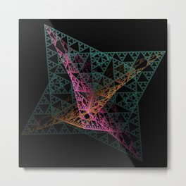 Colorful Intersection Metal Print