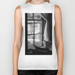 window in time Biker Tank