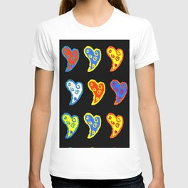 Colorful love in a colorful life T-shirt