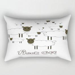 Flock Off Rectangular Pillow