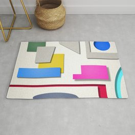 colorful shapes 2 Rug