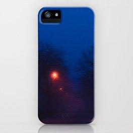 Foggy Nights (2) iPhone Case