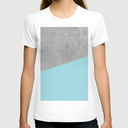 Concrete and Island Paradise Color T-shirt