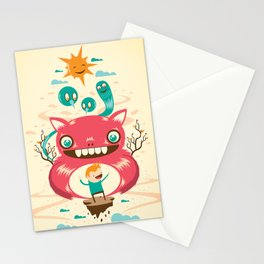 Imaginary Friends Stationery Cards
