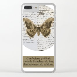 Combeferre Clear iPhone Case