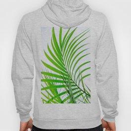 Simple palm leaves paradise Hoody
