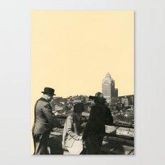 Views Across Vancouver Canvas Print