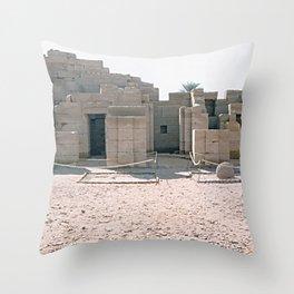 Temple of Dendera, no. 1 Throw Pillow