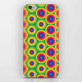 Rainbow Hexagon iPhone Skin