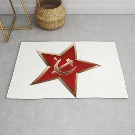 Soviet Badge Insigni Rug