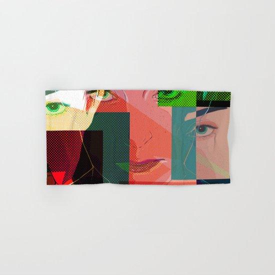 Eyes Pop art Hand & Bath Towel