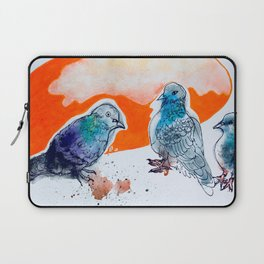 The Conversation at Bay and College Toronto Laptop Sleeve