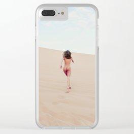 Carissima Hedy 1348 Sandy Dune Nude Clear iPhone Case