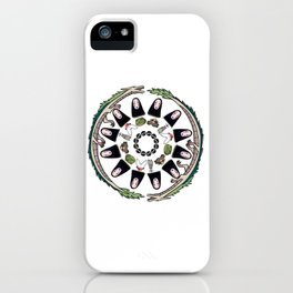 SPIRITED AWAY MANDALA iPhone Case