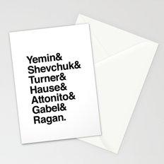 PUNK-ROCK'S FINEST Stationery Cards