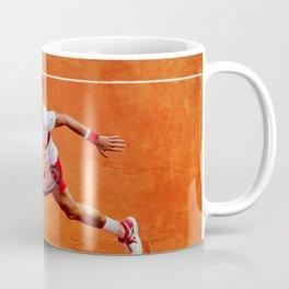 Novak Djokovic Running Coffee Mug