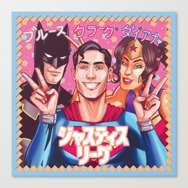 ジャスティス・リーグ - Justice League Canvas Print