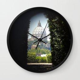 Buco della Serratura Wall Clock