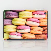 macaroons iPad Cases featuring Macaroons by lescapricesdefilles