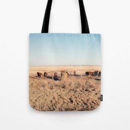 West Texas Stampede Tote Bag