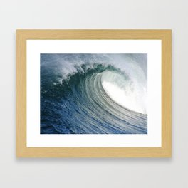 Hollow Dayz * Huntington Beach Pier Framed Art Print