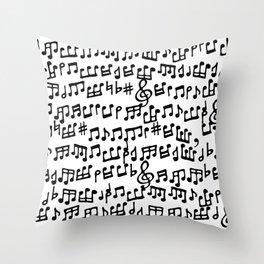 Take Notes Throw Pillow