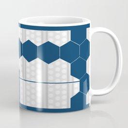 Tardis Shadow Blue Box Coffee Mug