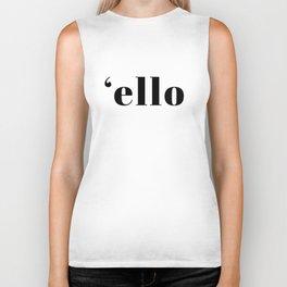 Ello T-Shirt Vol. II Biker Tank
