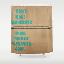 G4: Good Game, Girl Gamer - Grand Master Chef Shower Curtain