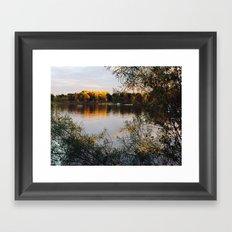 Autumn, The Year's Last Smile Framed Art Print