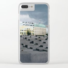 Berlin Holocaust Memorial Clear iPhone Case