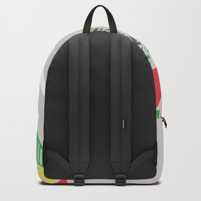 Colourful Elephant Backpack