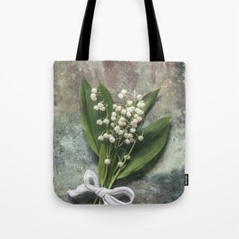 Beautiful Lily Of The Valley Tote Bag