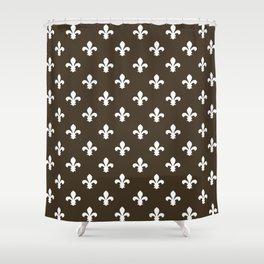 Cola Southern Cottage Fleur de Lys Shower Curtain