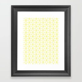 Hive Mind Yellow #193 Framed Art Print
