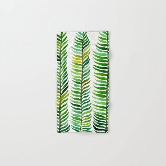 Seaweed Hand & Bath Towel