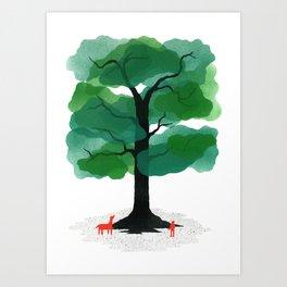 Man & Nature - The Tree of Life Art Print