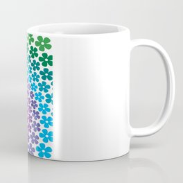Rainbow Flowers Coffee Mug