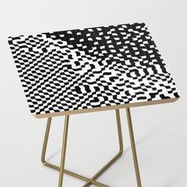 noisy pattern 12 Side Table