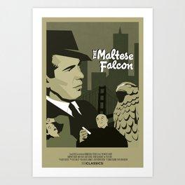 The Maltese Falcon Art Print