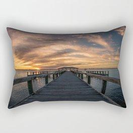 The Dock of Hope Rectangular Pillow