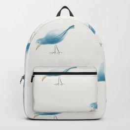 If happy little bluebirds fly... Backpack