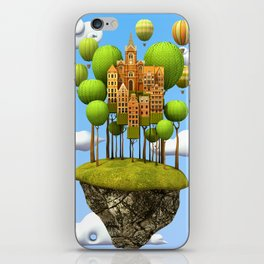 New City in the Sky iPhone Skin