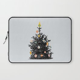 Decorated christmas tree Laptop Sleeve