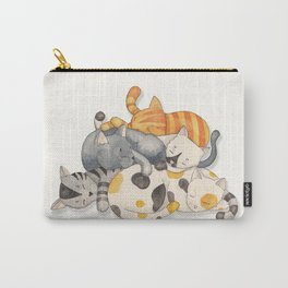 Cat Nap (Siesta Time) Carry-All Pouch