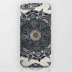 Silver Mandala iPhone 6s Slim Case