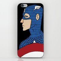 captain iPhone & iPod Skins featuring Captain by nu boniglio