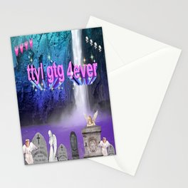 Away msg.... .... Stationery Cards