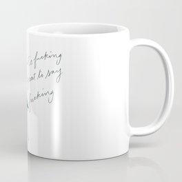 A sensation of liberty Coffee Mug