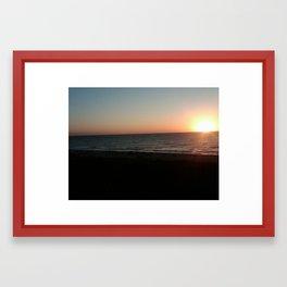 Sunrise Amelia Island Framed Art Print